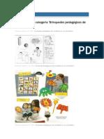 Brinquedos pedagógicos material reciclável