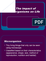 8.5 the Impact of Microorganisms on Life