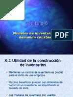 Concepto Modelo Inventarios Con Demanda Constante