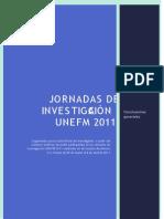 Acuerdos Mesas de Discusión UNEFM 2011