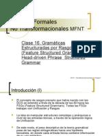 Clases 16 y 17 - HPSG