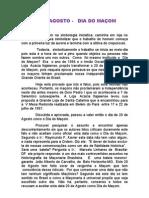 20 de AGOSTO - DIA DO MACOM - Diver Gen CIA de Datas