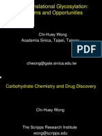 11 15 2006 Life Science Carbohydrate Chemistry and Drug Discovery