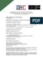 Programación oficial XII Encuentro Iberoamericano de Cementerios