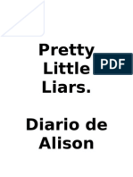 Pretty Little Liars- Diario de Alison