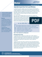 Adjustable Speed Drive Load Efficiency (US DOE)