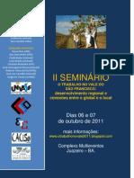 Edital Seminario o Trabalho No Vale 2011