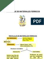 Reciclage de Materiales Ferricos