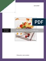 Tema 10. Protocolo en Las Comidas