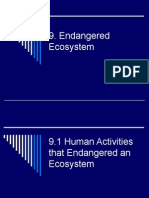 9 Endangered Ecosystem