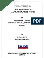 Risk Management in International Trade Finance