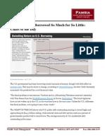 Roubini US Debt Pamria