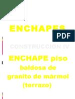 Enchapes - Granito de Marmol Piso -Septiembre 17