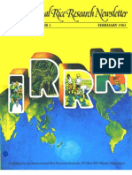 International Rice Research Newsletter Vol.8 No.1