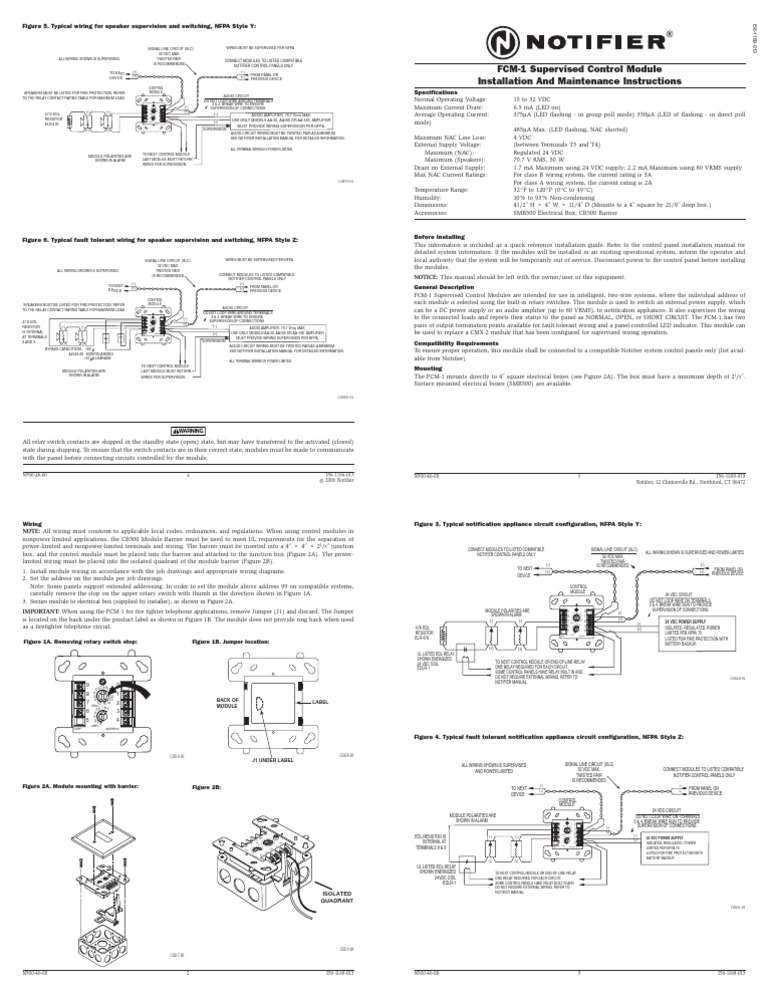 1512139994?v=1 fcm 1 relay electrical wiring notifier fdm-1 wiring diagram at fashall.co