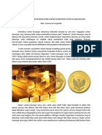 Kiamat Keuangan Dan Ekonomi Dunia Karena Penerapan Sistem Keuangan Emas
