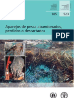 Aparejos de pesca abandonados, perdidos o descartados