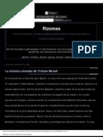 Rizomas_ La Musica Nomada de Tristan Murail