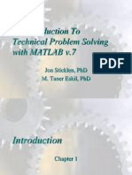 Intro Tech Matlab