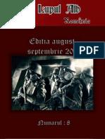 """Revista """"Lupul Alb"""" Numarul 8 august-septembrie 2011"""