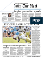 The Daily Tar Heel September 26, 2011