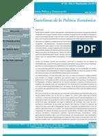 Entrelíneas de la Política Económica Ciepyc_n29