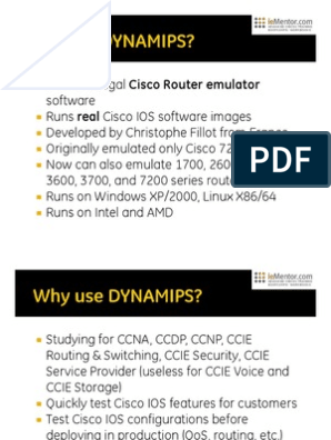 Introduction to Dynamips | Network Switch | Ubuntu (Operating System)