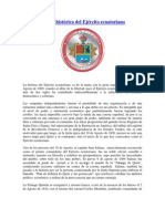 Reseña histórica del Ejército ecuatoriano