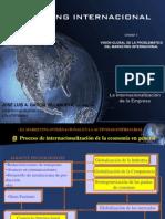 1. Internacionalización de la Empresa