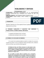 Problemario y Síntesis del Caso de San Luis Potosí