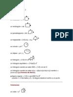 Formulas de Figuras Geometric As