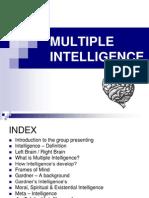 Multiple Intelligence - Final