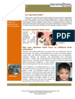 Operation Smile Philippines Fact Sheet