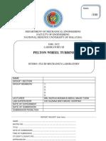 Lab III Pelton Wheel Cover
