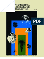 International Rice Research Newsletter Vol.14 No.3