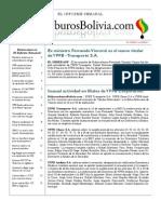 Hidrocarburos Bolivia Informe Semanal Del 19 Al 25 Septiembre 2011