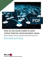 Social Media Report Summary