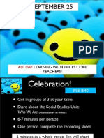 September 25 PD Day- Pwrpoint