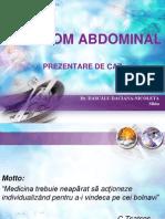 Hematom Abdominal