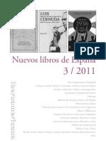 Nuevos Libros de España 3 - 2011