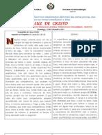 LUZ DE CRISTO / Domingo, 25 de Setembro 2011