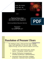 Wound Care Pressure Ulcers one Slide Presentation