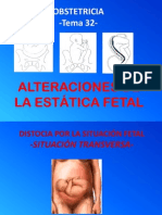 Alteraciones Estatica Fetal