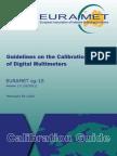 EURAMET Cg-15 v 2.0 Guidelines Calibration Digital Multi Meters