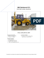 Jcb 3CX Fel_Backhoe For Sale (UEQ260911C)