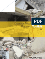Disaster Preparedness Planning Tool Kit Print)