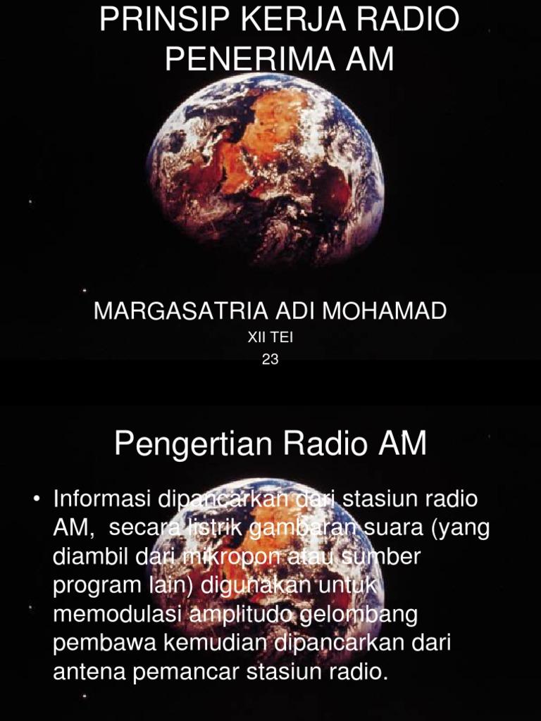 Prinsip kerja radio penerima am ccuart Gallery