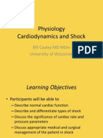 Physiology - Shock