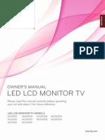 LG 2380DPZ Manual