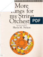 More Tunes for My String Orchestra Sheila Nelson